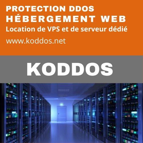 Koddos : hébergement web et location de VPS